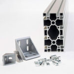 Aliuminio profiliai ir jų komponentai