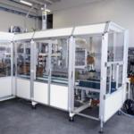 aliuminio profiliai panaudoti automatinių mašinų apsaugos sistemos konstrukcijai